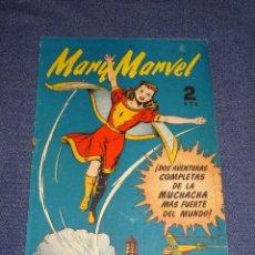 Tebeos: (M1) MARY MARVEL N.1 ORIGINAL, EDT HISPANO AMERICANA, BUEN ESTADO. Lote 294384218
