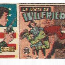 Tebeos: EL PEQUEÑO SHERIFF 209, 1952, HISPANO AMERICANA, ORIGINAL, MUY BUEN ESTADO. Lote 295347298