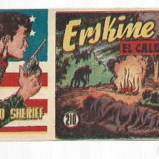 Tebeos: EL PEQUEÑO SHERIFF 210, 1952, HISPANO AMERICANA, ORIGINAL, MUY BUEN ESTADO. Lote 295347563