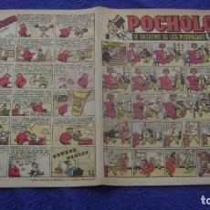 Tebeos: REVIUSTA POCHOLO POST GUERRA 12 HISPANO AMERICANA CJ 3 ANDREOTTI. Lote 295355598