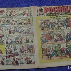 Tebeos: REVIUSTA POCHOLO POST GUERRA 11 HISPANO AMERICANA CJ 3 ANDREOTTI. Lote 295355673