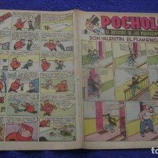 Tebeos: REVIUSTA POCHOLO POST GUERRA 8 HISPANO AMERICANA CJ 3 ANDREOTTI. Lote 295355708