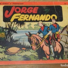 Tebeos: JORGE Y FERNANDO Nº 1, TOMO ROJO ORIGINAL, EDITORIAL HISPAÑO AMERICANA DE LOS AÑOS 40, MIDE 25 X 17. Lote 295415828
