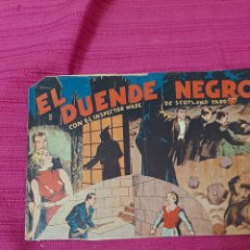 Tebeos: EL DUENDE NEGRO CON EL INSPECTOR WADE DE SCOTLAND YARD. Lote 295838833