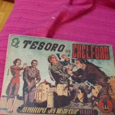 Tebeos: EL TESORO DE CHELFORD. Lote 295839038