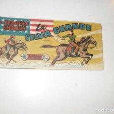 Tebeos: EL PEQUEÑO SHERIFF 11.(DE 270).HISPANOAMERICANA EDICIONES,AÑO 1948.ORIGINAL.. Lote 296577613