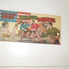Tebeos: EL PEQUEÑO SHERIFF 9.(DE 270).HISPANOAMERICANA EDICIONES,AÑO 1948.ORIGINAL.. Lote 296577798