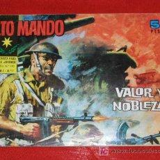 Tebeos: ALTO MANDO AÑO I Nº 17 - 1964 - ORIGINAL - VALOR Y NOBLEZA - IBERO MUNDIAL ED. SEGUNDA GUERRA MUNDIA. Lote 13920853
