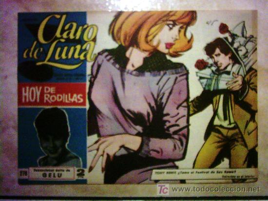CLARO DE LUNA - HOY DE RODILLAS, SENSACIONAL ÉXITO DE GELU Nº 278 (Tebeos y Comics - Ibero Mundial)