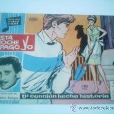 Tebeos: CLARO DE LUNA Nº 198 ESTA NOCHE PAGO YO / IBERO MUNDIAL 1963.. Lote 113267372