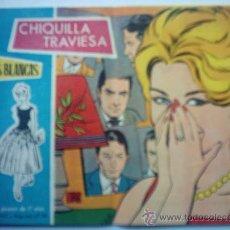 Tebeos: COLECCIÓN ROSAS BLANCAS - CHIQUILLA TRAVIESA Nº 372. Lote 26964577