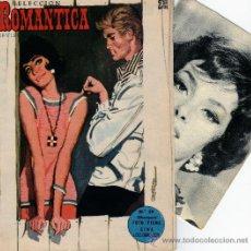 Tebeos: ROMANTICA Nº 38 CON FOTO-FICHA DE GINA LOLLOBRIGIDA. Lote 26518858