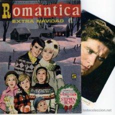 Tebeos: ROMANTICA EXTRA NAVIDAD 1963, CON FOTO DE STEPHEN BOYD, INT. SARA MONTIEL Y ALAIN DELON. Lote 26462686