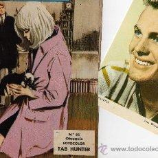 Tebeos: ROMANTICA Nº 85 CON FOTO-FICHA DE TAB HUNTER. Lote 26518863