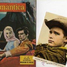 Tebeos: ROMANTICA Nº 102 CON FOTOCOLOR DE BRANDON DE WILDE. Lote 27608592