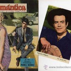 Tebeos: ROMANTICA Nº 106 CON FOTOCOLOR DE PERNELL ROBERTS (ADAM DE BONANZA). Lote 26588741