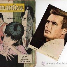 Tebeos: ROMANTICA Nº 108 CON FOTOCOLOR DE TY HARDIN, INT. JERRY LEWIS, JEAN SIMONS. Lote 26417728
