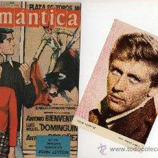 Tebeos: ROMANTICA Nº 110 CON FOTOCOLOR DE JOHN LEYTON. Lote 26474450