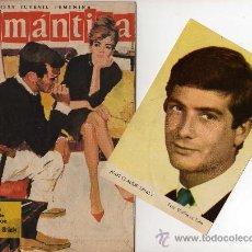 Tebeos: ROMANTICA Nº 122 CON FOTOCOLOR DE JEAN-CLAUDE BRIALY, CANCIÓN GELU. Lote 26307119