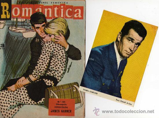 ROMANTICA Nº 125 CON FOTOCOLOR DE JAMES GARNER (Tebeos y Comics - Ibero Mundial)