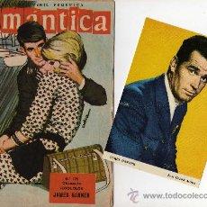 Tebeos: ROMANTICA Nº 125 CON FOTOCOLOR DE JAMES GARNER. Lote 27098570