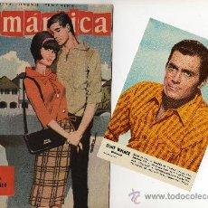 Tebeos: ROMANTICA Nº 128 CON FOTOCOLOR DE CLINT WALKER. Lote 26462721