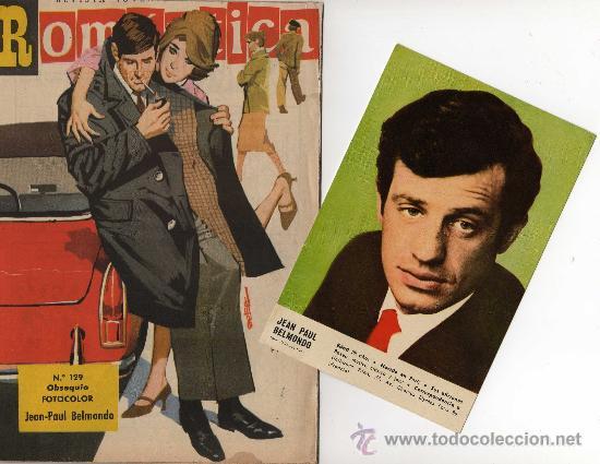 ROMANTICA Nº 129 CON FOTOCOLOR DE JEAN PAUL BELMONDO (Tebeos y Comics - Ibero Mundial)