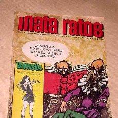 Tebeos: MATA RATOS Nº 239 AÑO VII, 1972. HUMOR GRÁFICO. VAMPIRELLA. IBERO MUNDIAL DE EDICIONES. CONTI, OLI.+. Lote 23914790
