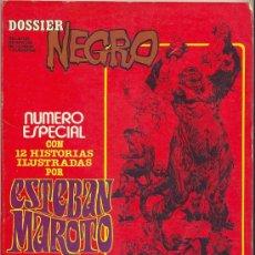 Tebeos: DOSSIER NEGRO ESPECIAL ESTEBAN MAROTO. Lote 27363261