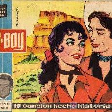 Tebeos: COL. CLARO DE LUNA - Nº 24 - COW BOY - IBERO MUNDIAL DE EDICIONES 1959 - ORIGINAL, NO FACSIMIL. Lote 11269387