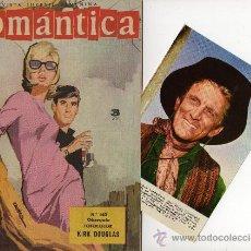 Tebeos: ROMANTICA Nº 140, CON FOTOCOLOR-FICHA DE KIRK DOUGLAS, INT. ROCK HUDSON. Lote 26323908
