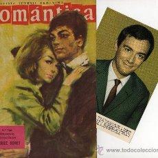 Tebeos: ROMANTICA Nº 146 CON FOTOCOLOR-FICHA DE MAURICE RONET. Lote 26503342
