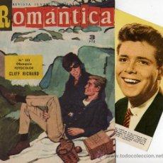 Tebeos: ROMANTICA Nº 153 CON FOTOCOLOR-FICHA DE CLIFF RICHARD. Lote 26323963