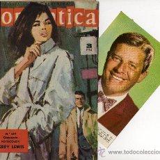 Tebeos: ROMANTICA Nº 159, CON FOTOCOLOR-FICHA DE JERRY LEWIS, REPORTAJE BURT LANCASTER. Lote 27633666