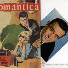 Tebeos: ROMANTICA Nº 163 CON FOTOCOLO-FICHA DE SEAN CONNERY, CONTRP. SOFIA LOREN. Lote 26588715