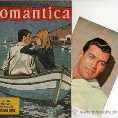 Tebeos: ROMANTICA Nº 189 CON FOTOCOLOR DE RICHARD EGAN, REPORTAJE JOANNE WOODWARD. Lote 26323967