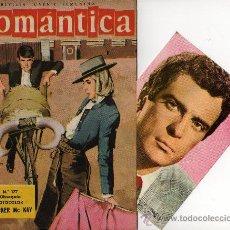 Tebeos: ROMANTICA Nº 177 CON FOTOCOLOR DE GARDNER MC KAY, REPORTAJE SHIRLEY MCLAINE. Lote 26712915