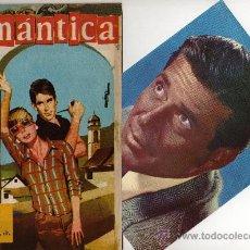 Tebeos: ROMANTICA Nº 194 CON GRAN FOTOCOLOR DE EFREM ZIMBALIST JR, CANCIÓN LOS SIREX. Lote 26518896