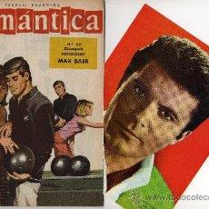 Tebeos: ROMANTICA Nº 199 CON GRAN FOTOCOLOR DE MAX BAER,BOXEADOR Y ACTOR DE TV. CANCIÓN LOS ROLLING STONES. Lote 26588772