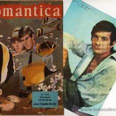 Tebeos: ROMANTICA Nº 203 CON GRAN FOTOCOLOR DE JEAN CLAUDE BRIALY, CANCIÓN THE BEAT CHICS. Lote 26376329