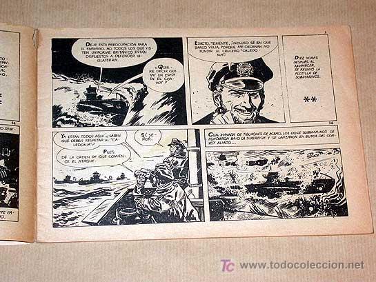 Tebeos: ALTO MANDO Nº 34. SENDERO DE MUERTE. IBERO MUNDIAL DE EDICIONES 1964.+++ - Foto 2 - 27394398
