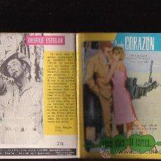 Livros de Banda Desenhada: COLECCION SERIE CORAZON Nº 274 - CONTRAPORTADA: ROBERT MITTCHUM - AÑOS 60. Lote 12574177