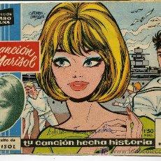Tebeos: COLECCION CLARO DE LUNA - AÑO 1959 - EDITADO POR IBERO MUNDIAL DE EDICIONES - LA CANCION DE MARISOL. Lote 26380683