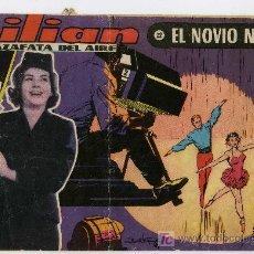 Tebeos: LILIAN AZAFATA DEL AIRE - Nº 22 EL NOVIO NEGRO ( INCOMPLETO). Lote 26380676