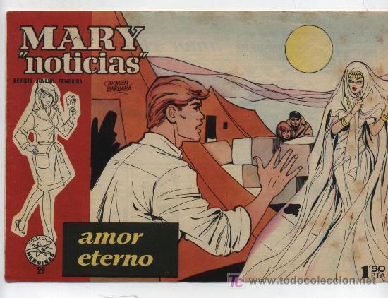 MARY NOTICIAS Nº 29. (Tebeos y Comics - Ibero Mundial)