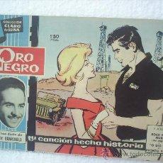 Tebeos: CLARO DE LUNA ORO NEGRO , JOSE GUARDIOLA N.106. Lote 15038350