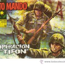 Tebeos: ALTO MANDO Nº 39 - ED.IBERO MUNDIAL 1964. Lote 25595116