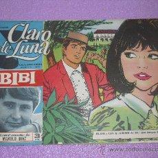 Tebeos: CLARO DE LUNA Nº 410 ... MANOLO DIAZ - BIBI + CONTRAPORTADA LOS PAJAROS LOCOS. Lote 25491046