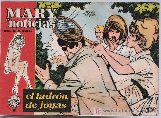 MARY NOTICIAS Nº 48. IBERO MUNDIAL 1960. (Tebeos y Comics - Ibero Mundial)
