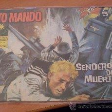 Tebeos: ALTO MANDO Nº 34 ( ORIGINAL ED. IBERO MUNDIAL ) ( S4). Lote 24543851